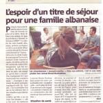 Une famille albanaise avec 2 enfants sourds en attente de jugement